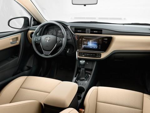 Технически характеристики за Toyota Corolla XI (E160) Restyling