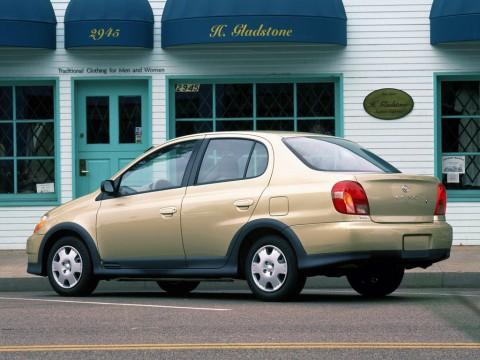 Caractéristiques techniques de Toyota Echo