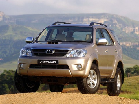 Technical specifications and characteristics for【Toyota Fortuner】
