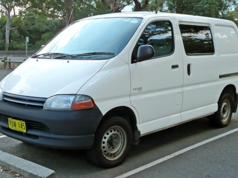 Technical specifications and characteristics for【Toyota Grand Hiace】