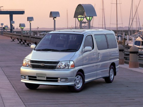 Technical specifications and characteristics for【Toyota Granvia】