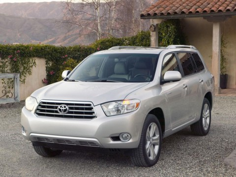 Technical specifications and characteristics for【Toyota Highlander II】