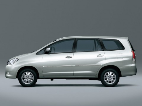 Technical specifications and characteristics for【Toyota Innova】