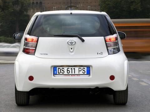 Toyota iQ teknik özellikleri