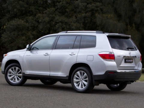 Technical specifications and characteristics for【Toyota Kluger V】