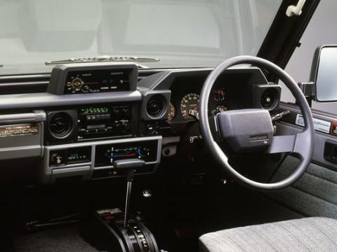 Caractéristiques techniques de Toyota Land Cruiser 100 J7