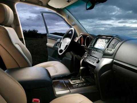 Caractéristiques techniques de Toyota Land Cruiser 200