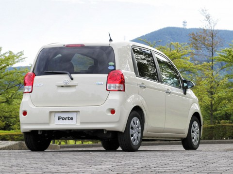 Technical specifications and characteristics for【Toyota Porte】