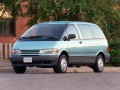 Toyota Previa Previa (CR) 2.4 i (156 Hp) full technical specifications and fuel consumption