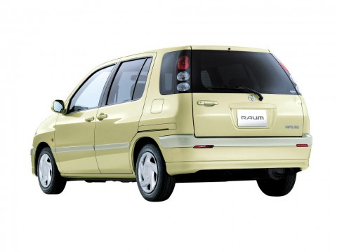 Technical specifications and characteristics for【Toyota Raum】