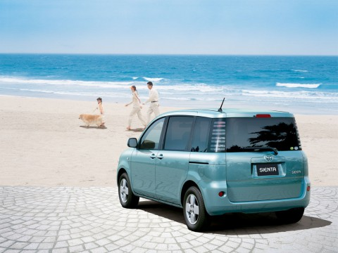 Technical specifications and characteristics for【Toyota Sienta】