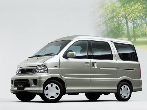 Technical specifications and characteristics for【Toyota Sparky】