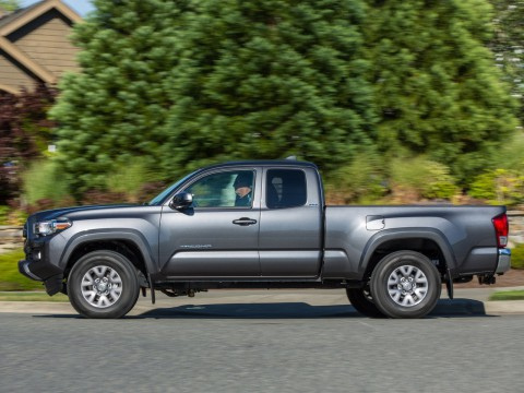 Technical specifications and characteristics for【Toyota Tacoma III】