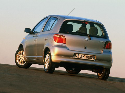 Technical specifications and characteristics for【Toyota Yaris (P1)】