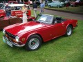 Technical specifications of the car and fuel economy of Triumph TR 6