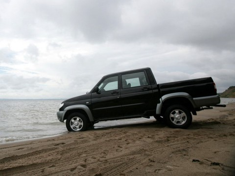 Technical specifications and characteristics for【UAZ 23632 Pickup】