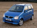 Technical specifications of the car and fuel economy of Vauxhall Agila