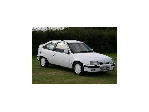 Technical specifications and characteristics for【Vauxhall Astra Mk II CC】