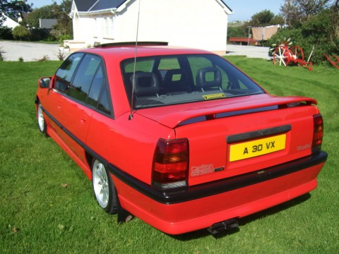 Technical specifications and characteristics for【Vauxhall Carlton Mk III】