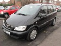 Technical specifications of the car and fuel economy of Vauxhall Zafira