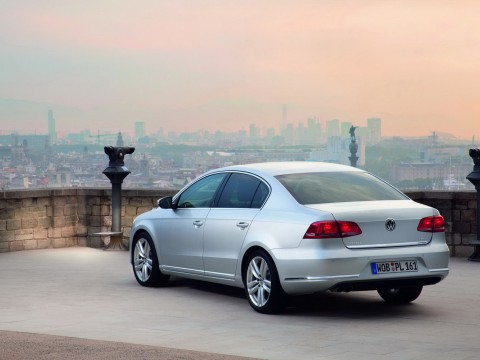 Volkswagen Passat (B7) teknik özellikleri
