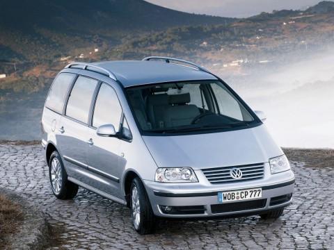 Specificații tehnice pentru Volkswagen Sharan (7M)