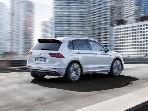 Technical specifications and characteristics for【Volkswagen Tiguan II】