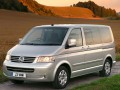 Technical specifications of the car and fuel economy of Volkswagen Transporter